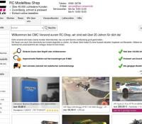 CMC dostawa R / C Model Shop niemiecki sklep internetowy Sport & rekreacja, Hobby,