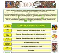 COMICIMOC – komiks sklep, sklep i komiksu Comic okno niemiecki sklep internetowy Książki,