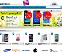 telefon.de Handels AG – sklep internetowy dla komórkowych, akcesoria do telefonów komórkowych, organizator i faksy niemiecki sklep internetowy Telefony,
