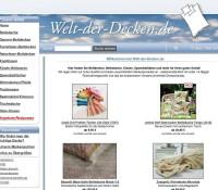 Welt-der-Decken.de – Wysokiej jakości narzuty i wyroby włókiennicze domowe niemiecki sklep internetowy Artykuły dla dzieci, Odzież & obuwie,