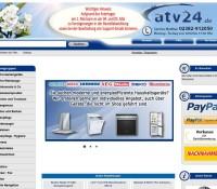 ATV24.de – Twój Sklep Internetowy niemiecki sklep internetowy Podróże, Oprogramowanie & multimedia, Sprzęt RTV AGD, Fotografia,