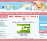 Internetowy sklep dla dzieci Anika Baby Shop polski sklep internetowy