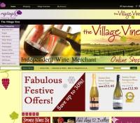 The Village Vine store brytyjski sklep internetowy Prezenty, Artykuły spożywcze,