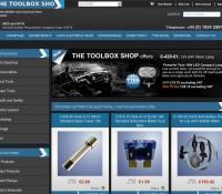 The ToolBox Shop store brytyjski sklep internetowy Sport & rekreacja, Dom i ogród, Narzędzia i majsterkowanie, Motoryzacyjne,