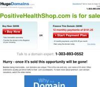 Positive Health Shop store brytyjski sklep internetowy Zdrowie, Artykuły spożywcze,