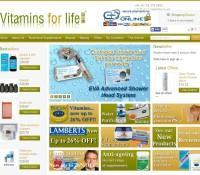 www.vitaminsforlife.co.uk store brytyjski sklep internetowy Zdrowie,