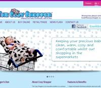 www.thecosyshopper.co.uk store brytyjski sklep internetowy Artykuły dla dzieci, Wielobranżowe,