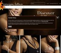 Corazon Latino store brytyjski sklep internetowy Biżuteria & zegarki,