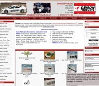 Demon RC Power Products store brytyjski sklep internetowy Motoryzacyjne,