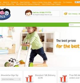 The Childminding Shop store brytyjski sklep internetowy Artykuły dla dzieci,
