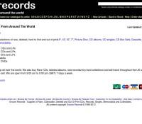 Encore Records store brytyjski sklep internetowy Muzyka,