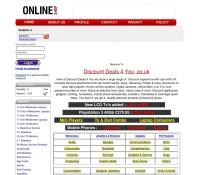Discount Deals 4 You store brytyjski sklep internetowy Komputery, Fotografia, Sprzęt RTV AGD, Telefony, Oprogramowanie & multimedia,