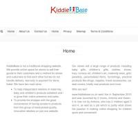 KiddieBase store brytyjski sklep internetowy Artykuły dla dzieci, Odzież & obuwie, Prezenty, Podróże,