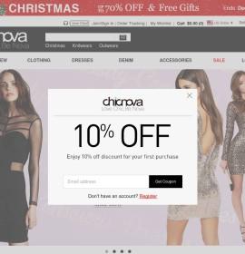Chicnova – chiński internetowy sklep odzieżowy