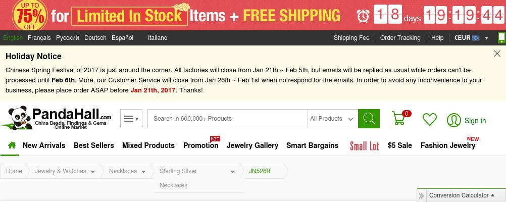 30% OFF Simple Elegant 925 Sterling Silver Pendant Necklace $9.91