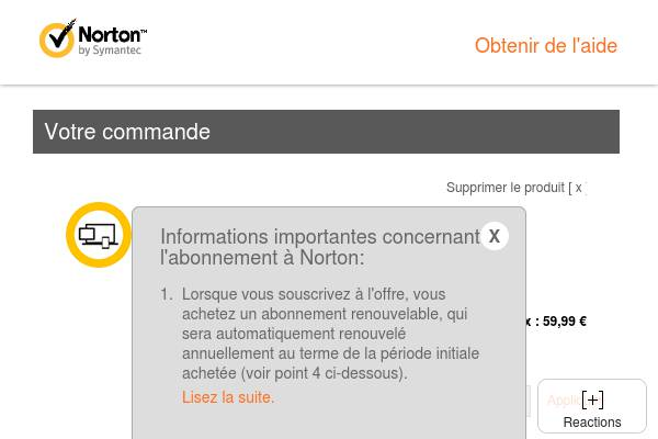 FR - Norton Security Deluxe - 10€ de réduction (Coupon)