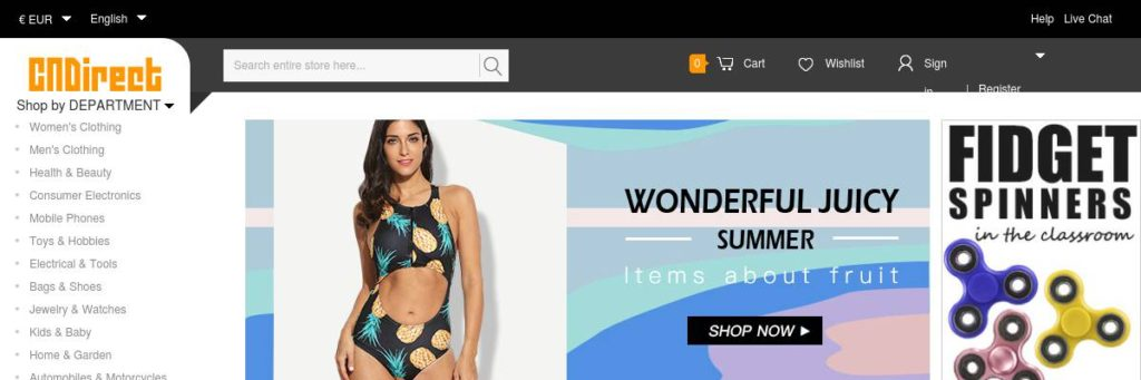 Summer Coupon//$5 Off $60+ Sitewide//