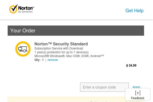 US- FLASH SALE! Save $35 on 1 Year of Norton Security Standard and protect your device now for only $34.99! Offer ends on Tuesday 6/20.